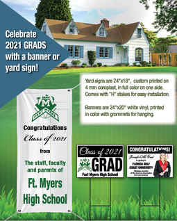 Senior Yard Signs & Banners